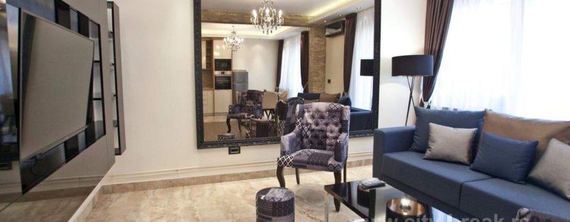 Apartman u Beogradu Molerova, strogi centar Beograda