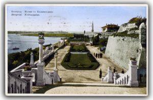 istorijska slika kalemegdana