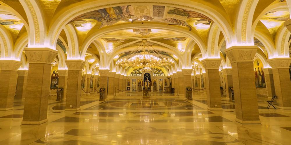 Podzemne kripte hrama svetog save