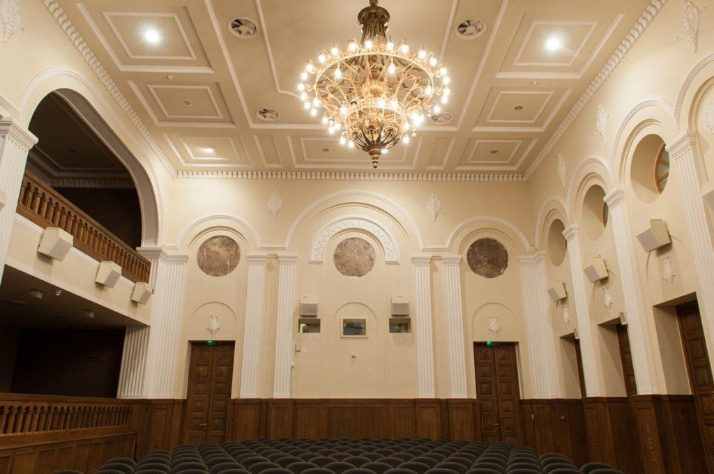 Unutrasnjost beogradske kinoteke