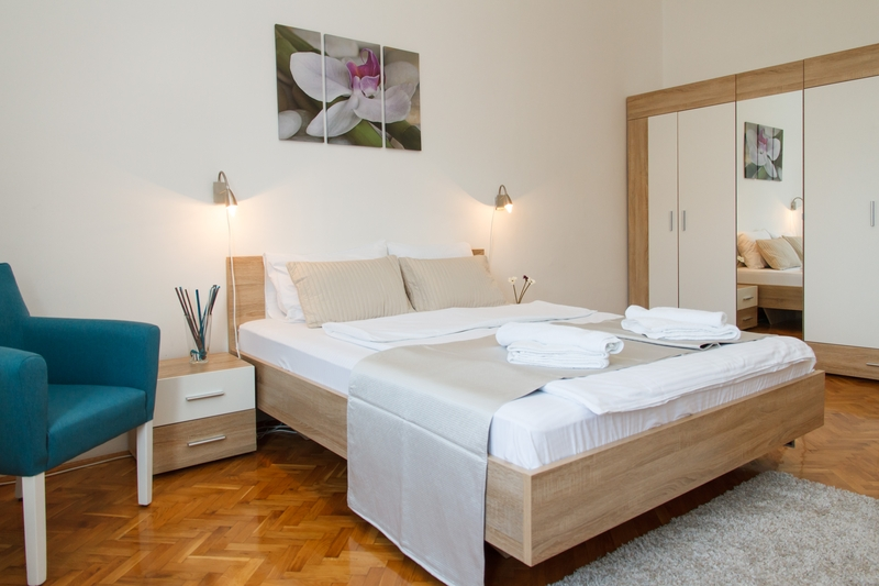 Bracni krevet sa peskirima