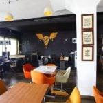 Restoran Kran - Beton hala - enterijer