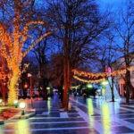trg sokobanja zimi
