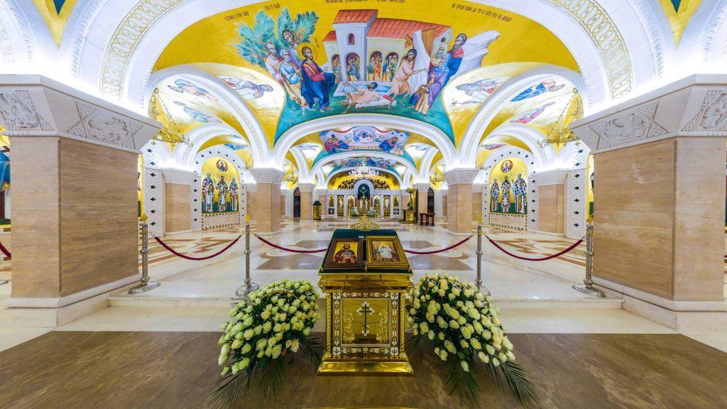 unutrasnjost hrama svetog save